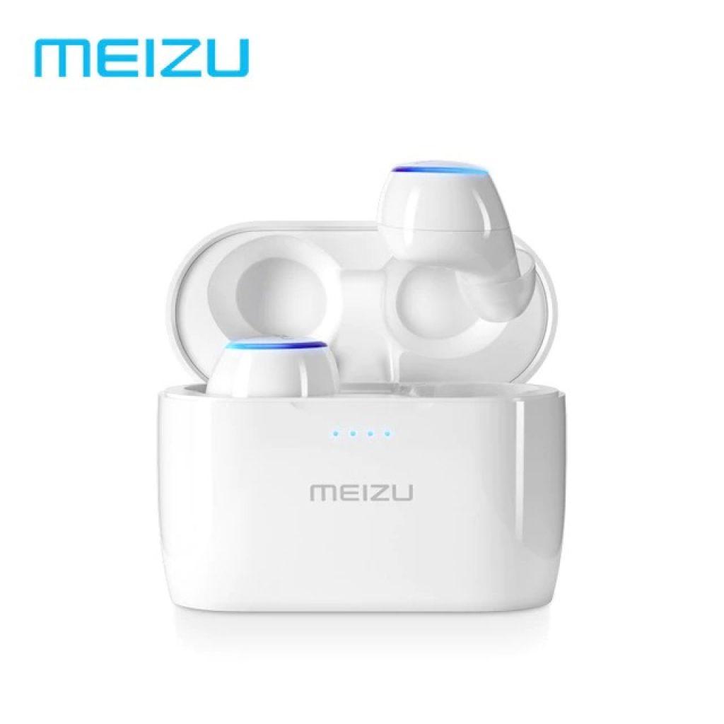 Gearvita, kupon, banggood, Meizu POP TW50 Gerçek Kablosuz Çift Bluetooth Kulaklık Dokunmatik Stereo Su Geçirmez Spor Kulak Kulakiçi Ile Şarj Durumda