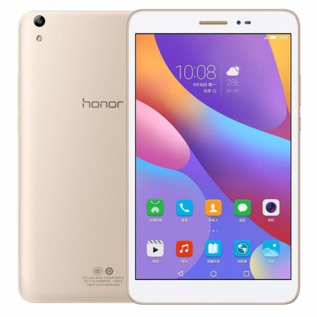 Original Box Huawei Honor 2 LTE JDN-AL00 64GB Qualcomm Snapdragon 616 8 Inch Android 6.0 Tablet, coupon, BANGGOOD