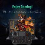 coupon, gearbest, UKB - 500 - RF 2.4G Wireless QWERTY English Keyboard
