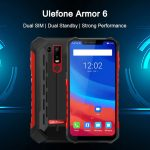 banggood, Ulefone Armor 6 4G Phablet - BLACK EUROPEAN UNION, coupon, GearBest
