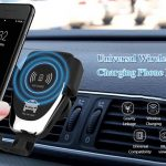 banggood, coupon, gearbest, Universal Wireless Qi Fast Charging Car Charger Air Vent Phone Holder
