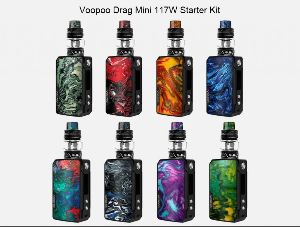 coupon, gearbest, Voopoo Drag Mini 117W Mod Kit