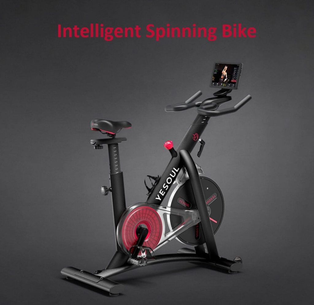 YESOUL M3 Intelligent Spinning Bicycle from Xiaomi youpin - BLACK, coupon, GearBest