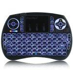 coupon, gearbest, iPazzPort 21S Mini Keyboard - BLACK HEBREW