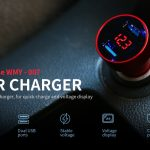 coupon, gearbest, Alfawise Dual USB 3.4A Fast Car Charger
