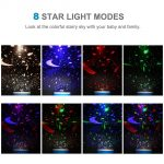 coupon, gearbest, BRELOBG DC 5V Star Light Rotating Projector Lamp for Kids Bedroom