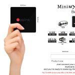 Phiếu giảm giá, gearbest, Hộp TV Beelink MINI MXIII II Amlogic S905X Quad Core