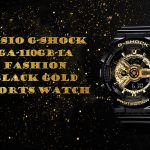 coupon, gearbest, G - SHOCK GA - 110GB - 1A Dual Display Fashion Black Gold Series Sports Dual Display Watch