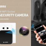 coupon, gearbest, Gocomma MC48 WiFi Socket Plug 1080P Full HD Security Camera