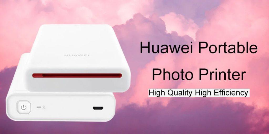 coupon, gearbest, Huawei AR Printer Original Portable Photo Mini Pocket