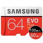 coupon, gearbest, Samsung 64G 128G Mobile Phone Driving Recorder Sports Camera TF Memory Card - RED 64GB