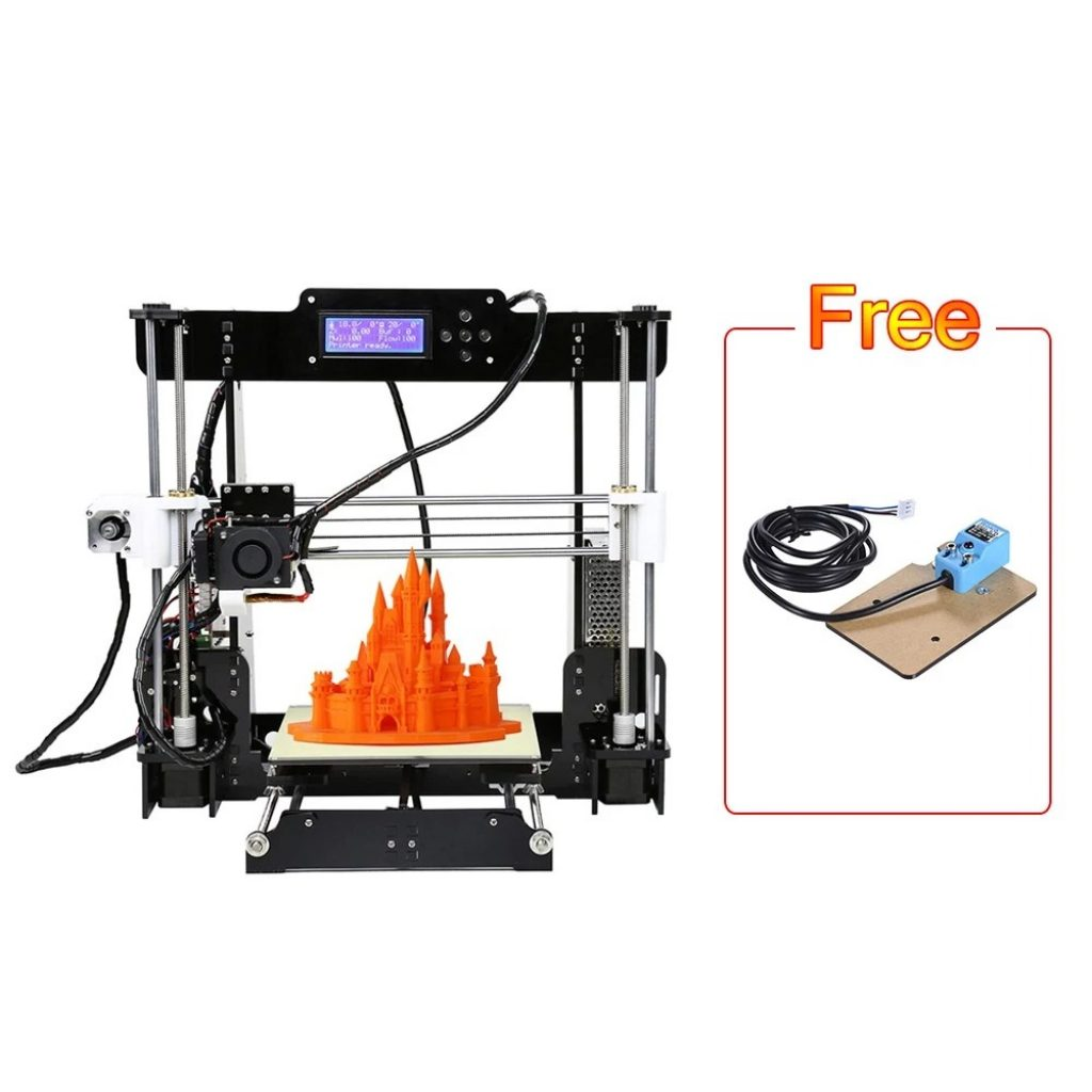 coupon, tomtop, Upgraded Anet A8 High Precision 3D Printer
