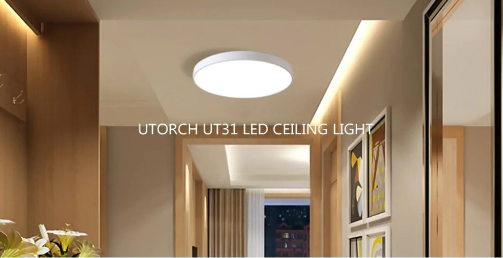 coupon, gearbest, Utorch UT31 LED Ceiling Light