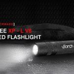 coupon, gearbest, Utorch V8 + CREE XPL Portable LED Flashlight
