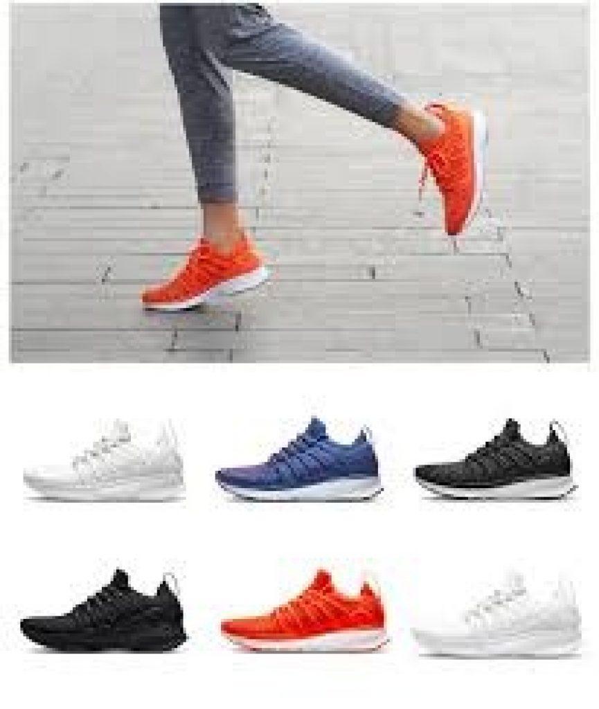 Phiếu giảm giá, banggood, Giày thể thao Xiaomi Mijia 2 Đàn ông Techinique Hệ thống khóa xương cá mới Giày thể thao Giày chạy bộ Giày thể thao