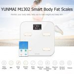 coupon, gearbest, YUNMAI M1302 Bluetooth Smart Weighing Scale