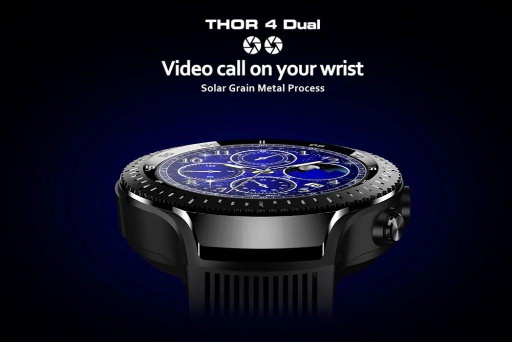 coupon, gearbest, Zeblaze THOR 4 Dual 4G Smartwatch Phone