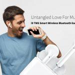 coupon, gearbest, i9 TWS Smart Wireless Bluetooth Earbuds Mini Earphones