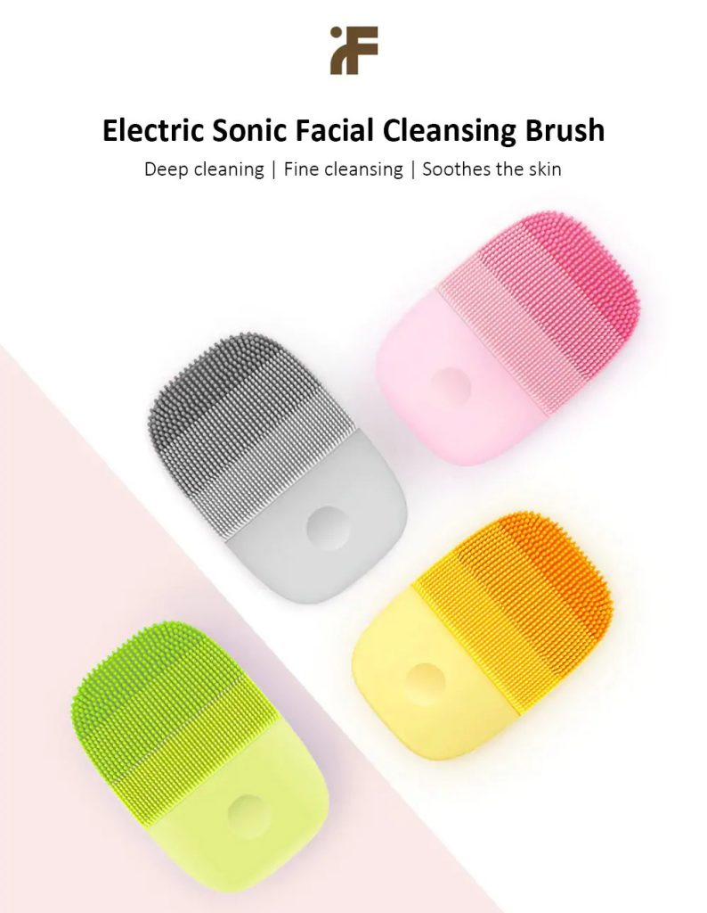 phiếu giảm giá, gearbest, inFace MS - 2000 Electric Sonic Facial Cleansing Brush từ Xiaomi youpin - PIG PINK