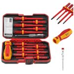 coupon, banggood, 13Pcs 1000V Electronic Insulated Screwdriver Set Phillips Slotted Torx CR-V Screwdriver Repair Tools