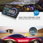 coupon, gearvita, A8 5.5 inch Digital OBD II Car Head Up Display (HUD) Projector