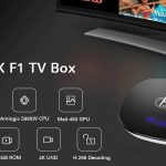 coupon, gearbest, A95X F1 Smart TV Box