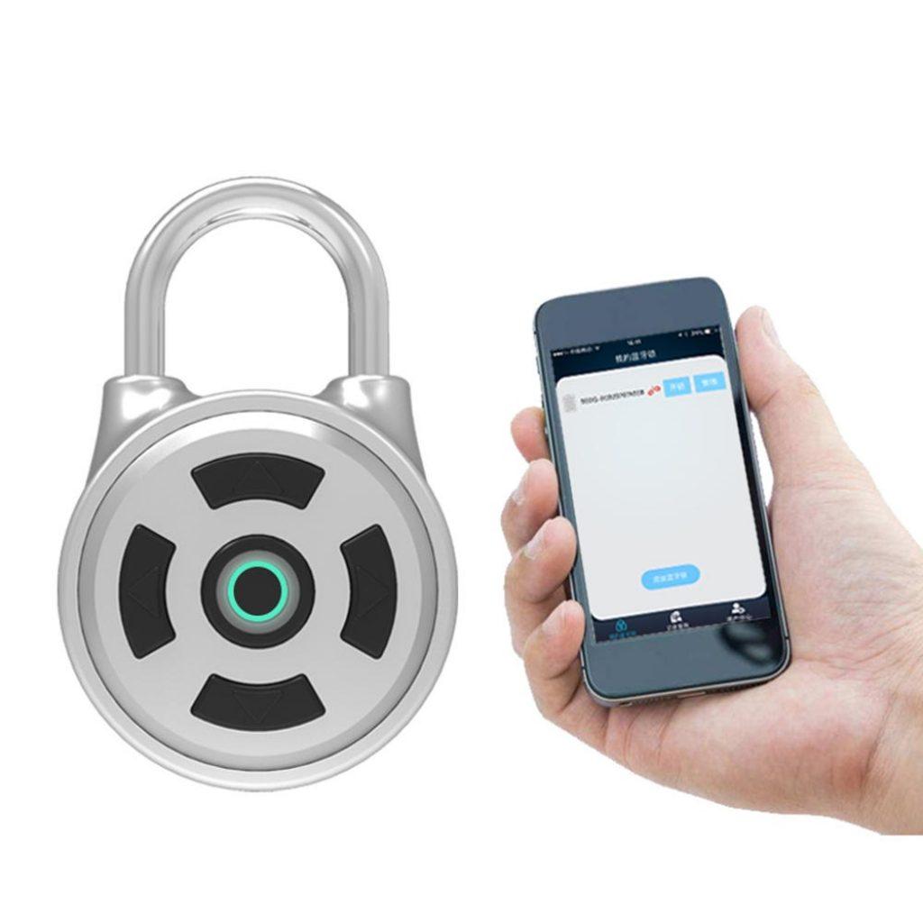 Phiếu giảm giá, banggood, Khóa mật khẩu thông minh APP Khóa iOS iOS Mở khóa kết hợp bảo mật chống trộm Khóa trong nhà