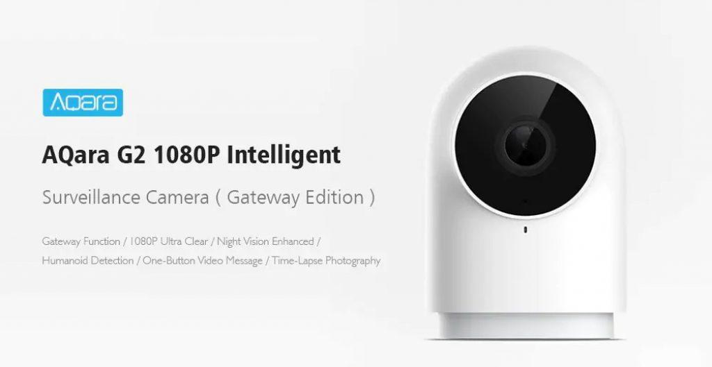 banggood, coupon, gearvita, AQara G2 1080P WiFi Smart IP Camera With Gateway Function