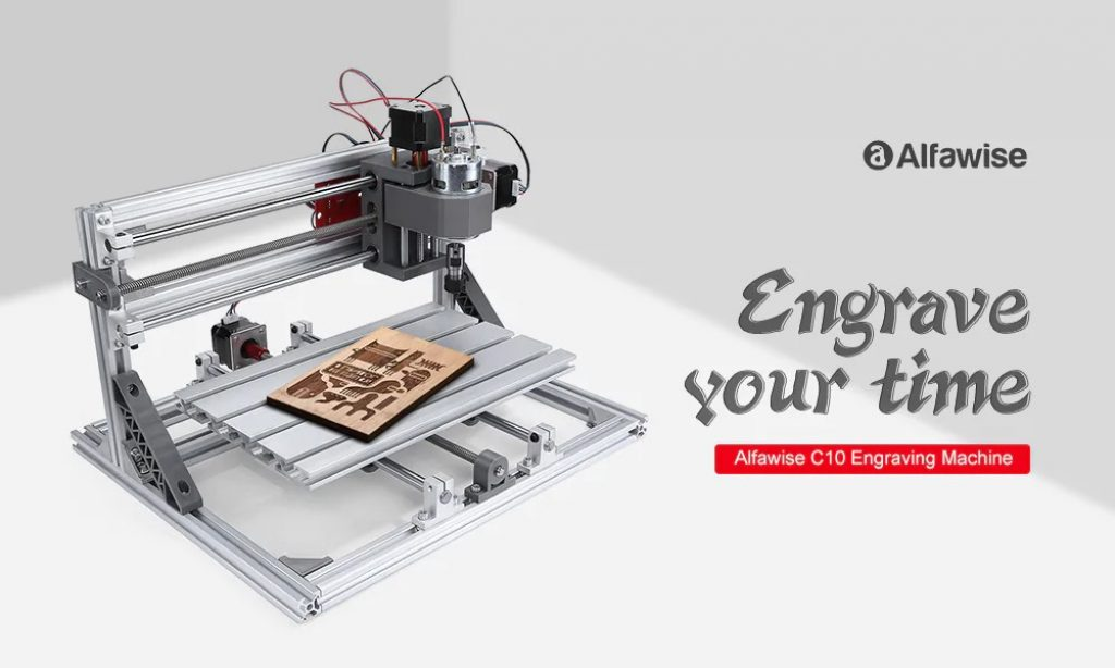 coupon, gearbest, Alfawise C10 CNC 3018 Engraving Machine