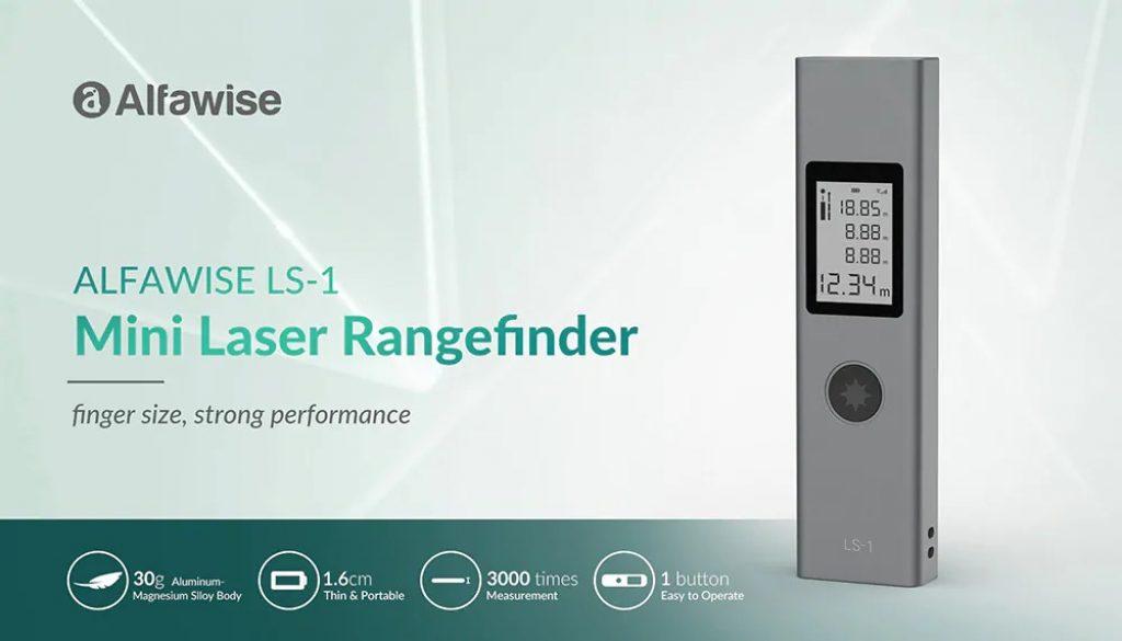 phiếu giảm giá, gearbest, Alfawise LS - 1 Mini Laser Rangefinder