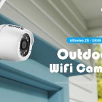 coupon, gearbest, Alfawise ZS - GX4S 1080P Waterproof IP66 Outdoor IP Camera