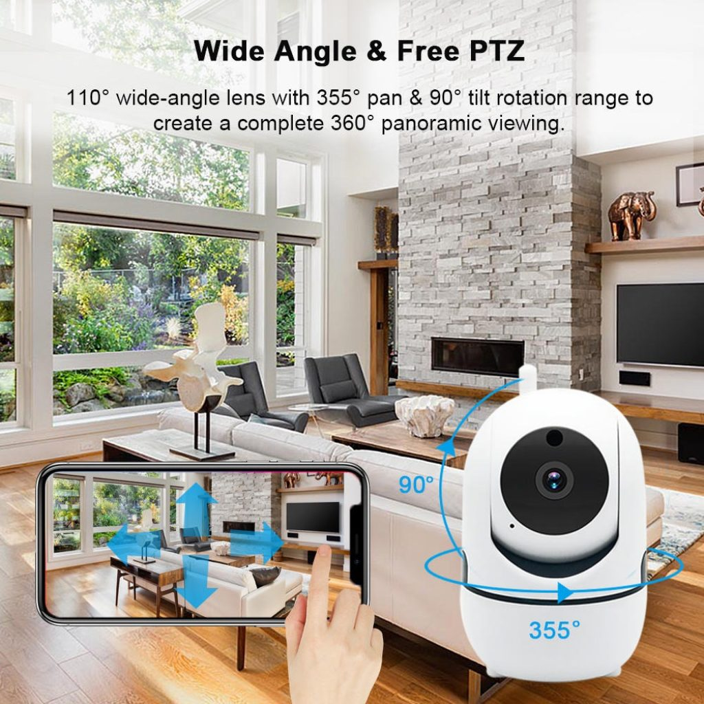 coupon, banggood, CES NEWS' 1080P Wireless WIFI IR Cut Security IP Camera Night Vision Intelligent HD Surveillance Camera