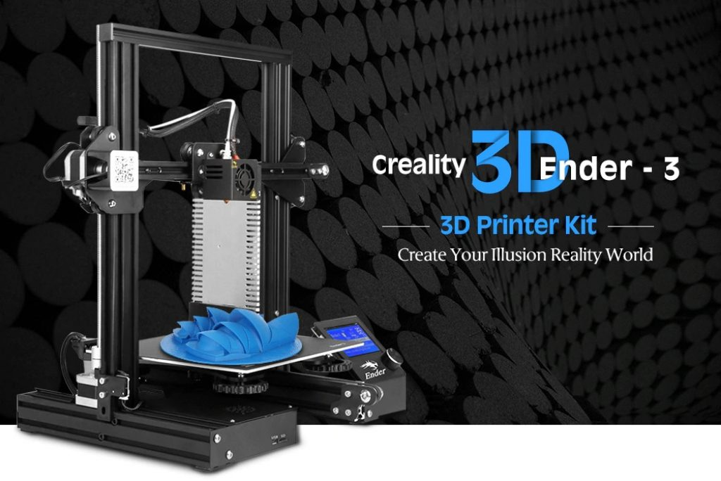 coupon, gearbest, Creality3D Ender - 3X ( Ender - 3 Upgraded Version ) 3D Printer