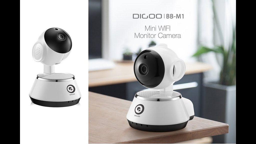 coupon, banggood, Digoo BB-M1 Wireless WiFi USB Baby Monitor Alarm Home Security IP Camera HD 720P Audio Netip