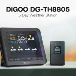 coupon, banggood, Digoo DG-TH8805 Wireless Five Day Forcast Version Weather Station