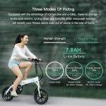 kupón, zámok, FIIDO D1 14 Inch sklápací Power Assist Eletric Bicycle