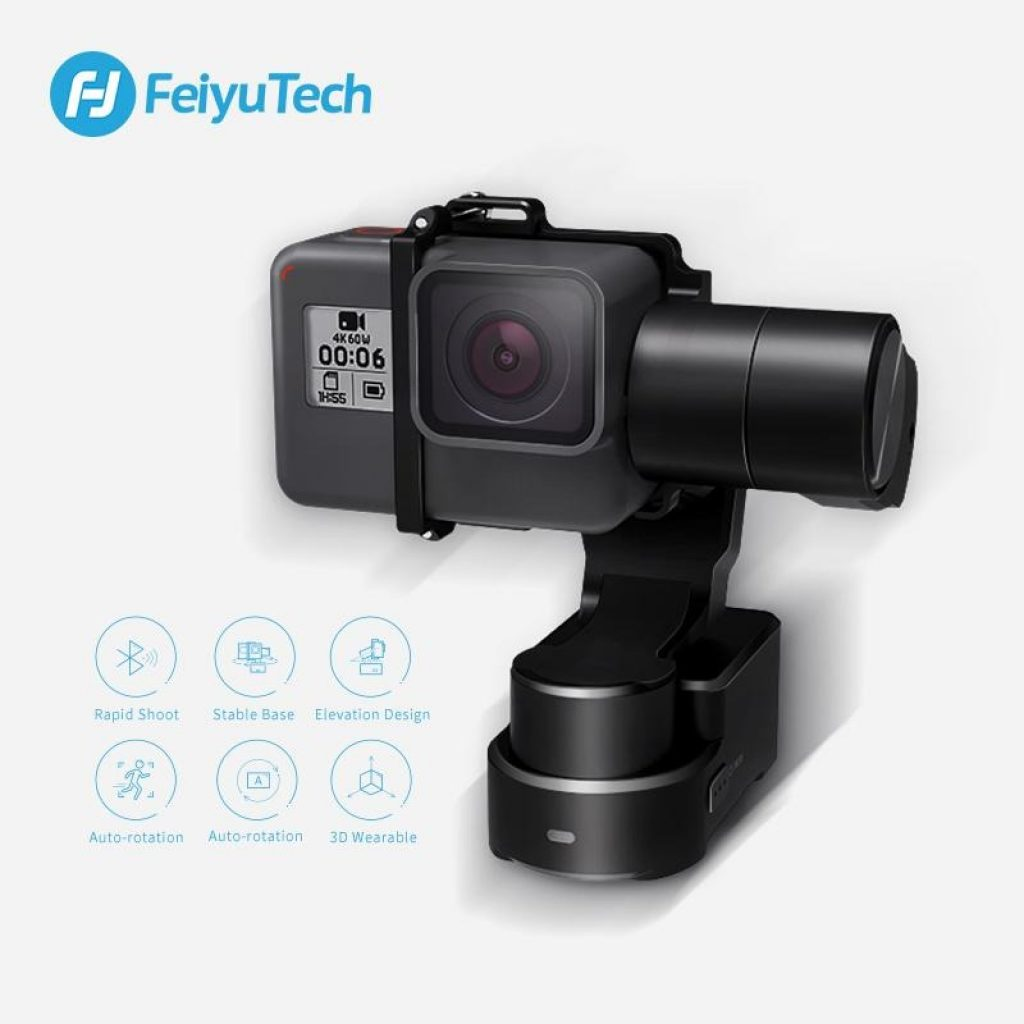 coupon, banggood, Feiyu Tech WG2X 3-Axis Wearable Gimbal Camera