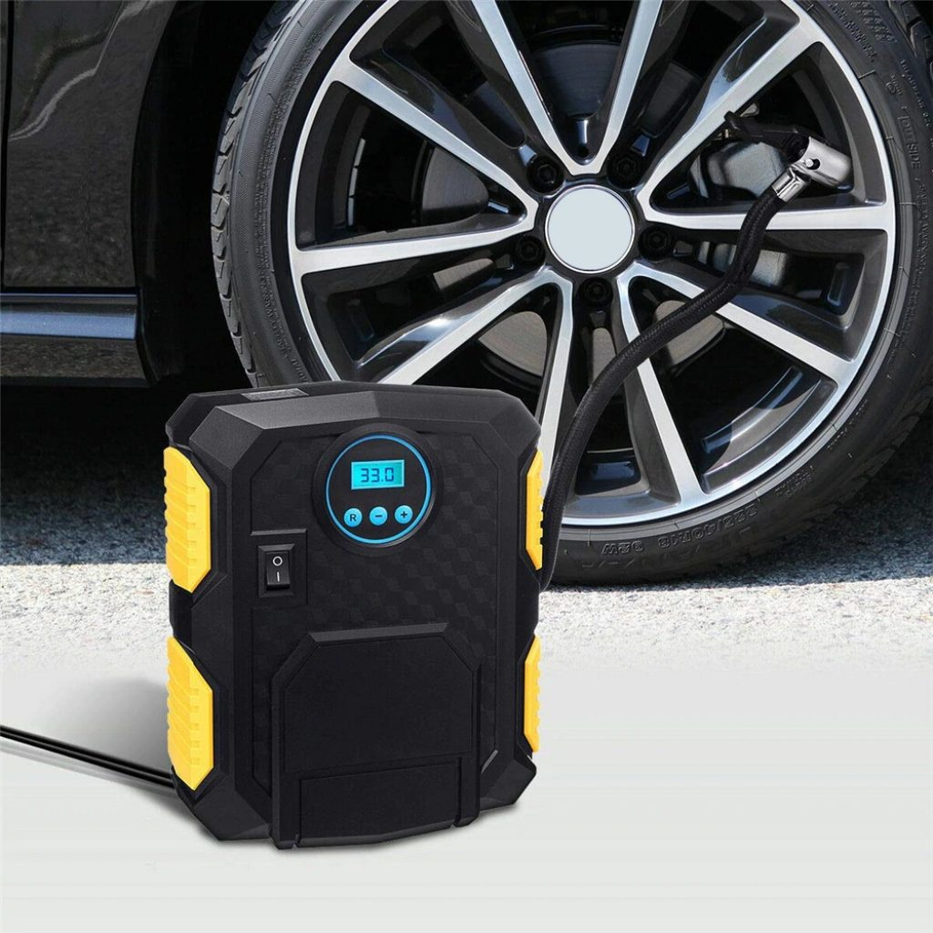 coupon, gearbest, pompa aria Gocomma 910G Digital Inflator Car