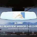 coupon, gearbest, Gocomma A2 4.3 inch HD DVR Rearview Mirrors Driving Car Recorder