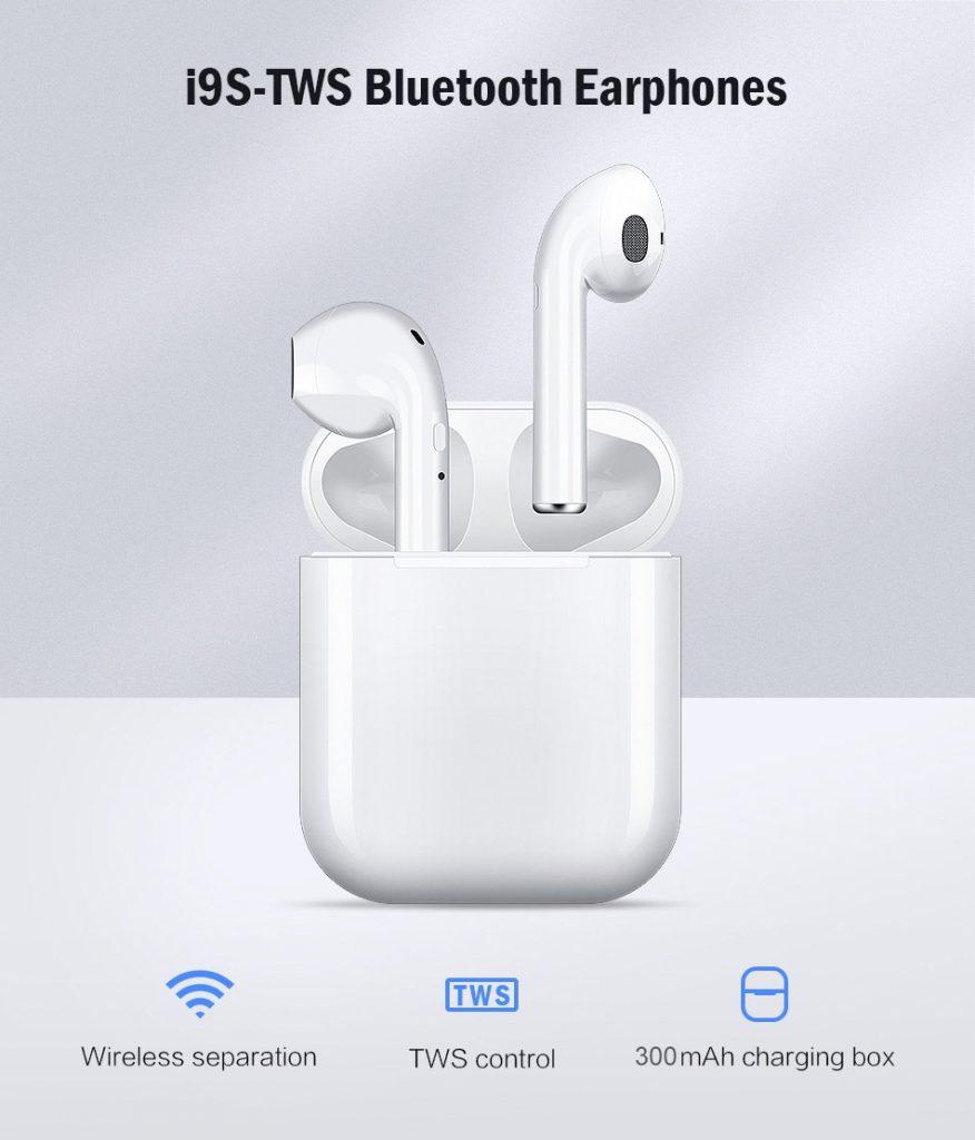 coupon, gearvita, I9S TWS Mini Bluetooth 5.0 Earphones