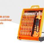 coupon, gearbest, JAKEMY JM-8100 32 in 1 Screwdriver Repair Tools Set