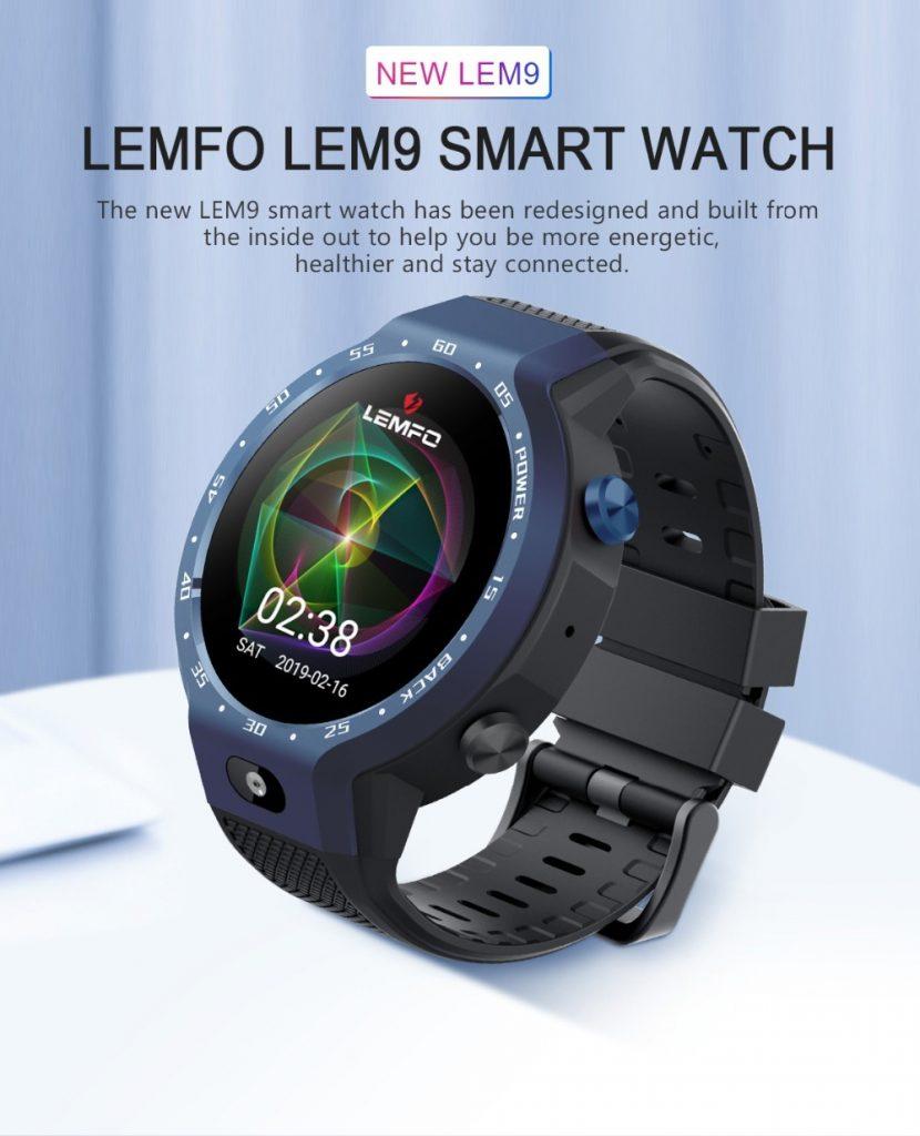 banggood, coupon, geekbuying, LEMFO LEM9 4G Smartwatch