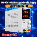 coupon, banggood, LONG WEI LW-K3010D 110V 220V 30V 10A Adjustable Digital DC Power Supply Switching Power Supply