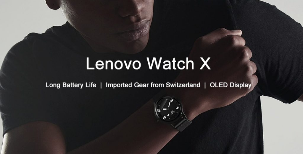 coupon, gearvita, Lenovo Watch X Bluetooth Waterproof Smartwatch