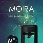 coupon, gearbest, MOIRA Mini Ant-build Volume Desktop 3D Printer