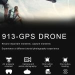 coupon, gearbest, Ninja 913 GPS Brushless RC Drone Quadcopter