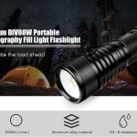 coupon, gearbest, Nitesun DIV08W Portable 1500lm Photography Fill Light Flashlight