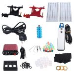 coupon, gearbest, Professional Complete Tattoo Kit 2 Rotary Motor Machine Guns