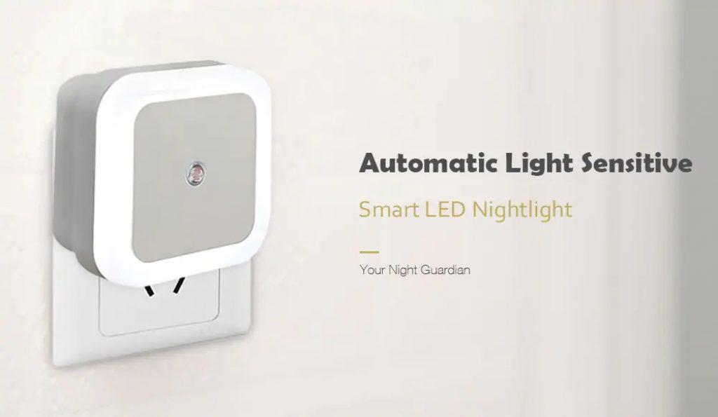 kupón, prevodovka, inteligentná LED svietiaca lampa pre nocné svietidlá