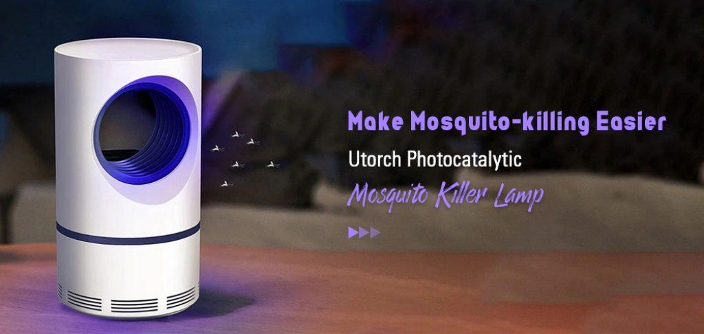 phiếu giảm giá, gearbest, đèn diệt muỗi Utorch Photocatalytic